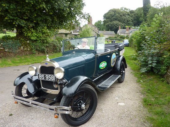 Winster, UK: Model A Ford