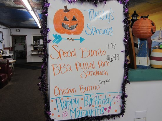 Tooele, UT: Virg's Daily Specials Board