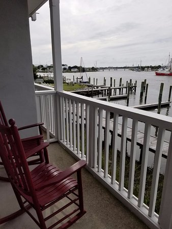 Beaufort, Carolina del Norte: Balcony off our room