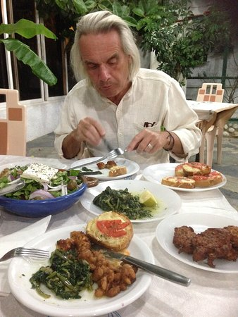 Golfer Restaurant : Lovely selection suitable for vegetarians