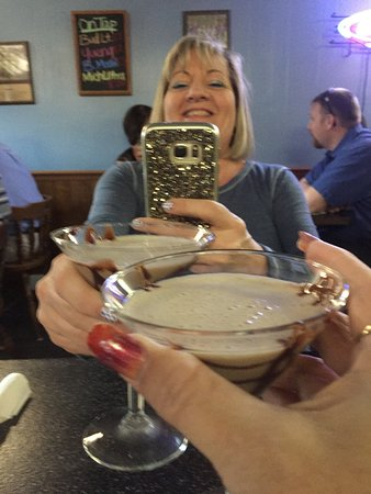 Rutherfordton, Βόρεια Καρολίνα: Enjoying a Chocolate Martini