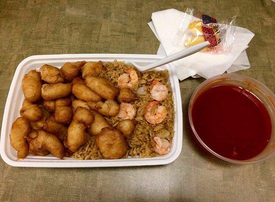 Γιόρκ, Πενσυλβάνια: Sweet & Sour Chicken lunch special