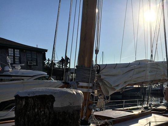 Sailing Excursions Adirondack II: Our ship
