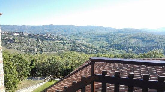 CDH Hotel Radda: Terrazza panoramica