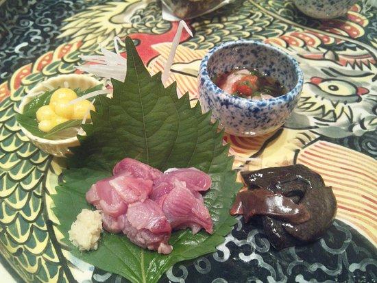 Suisan Iwakawa: スッポンの刺身。臭みも全くありません。
