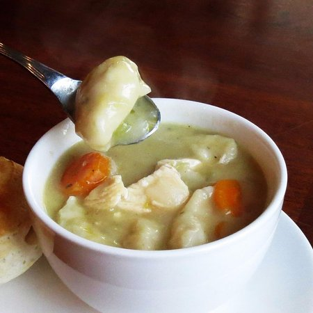 Eufaula, OK: Chicken N' Dumpling Soup! (Served on Special Days only)