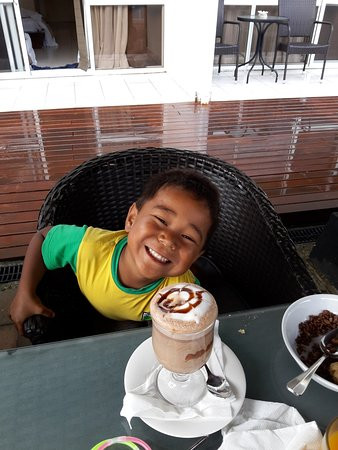 The Melanesian Port Vila: chocolat chaud
