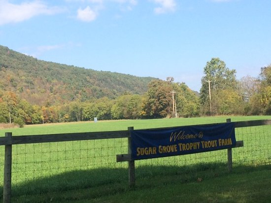 Sugar Grove, WV: The welcome sign
