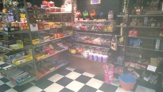 Haverhill, NH: Nice candy display