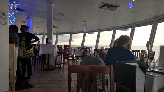 Grand Plaza Beachfront Resort Hotel Conference Center View Inside Spinners Restaurant