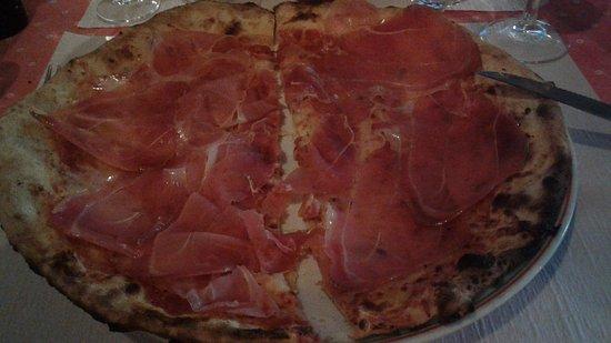 Da Paolo: Pizza de presunto parma