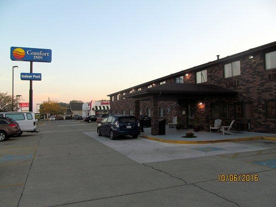 Comfort Inn Kokomo : Exterior grounds.
