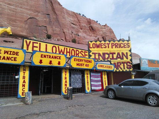 Lupton, Arizona: Navajo Store Lupton, AZ