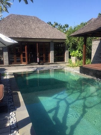 Peppers Seminyak: Our private pool