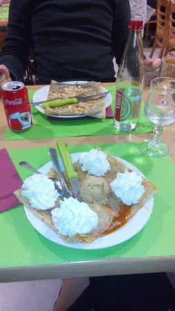Huisnes sur Mer, Frankreich: Crepes