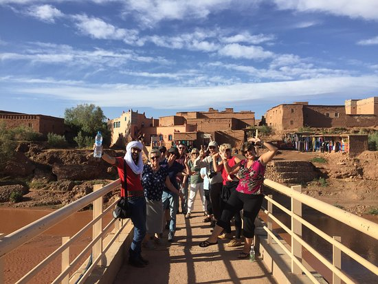 Marrakech-Tensift-El Haouz Region, Morocco: Great day Hiking out to KASBAH Ait Ben Haddou