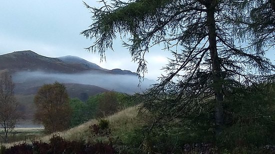 Crianlarich, UK: Misty morning