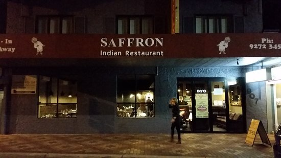 Inglewood, ออสเตรเลีย: Saffron Indian Restaurant