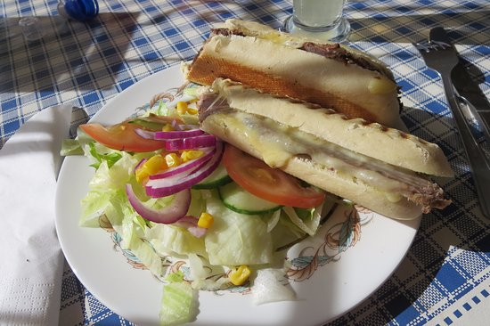 Heddon-on-the-Wall, UK: panini