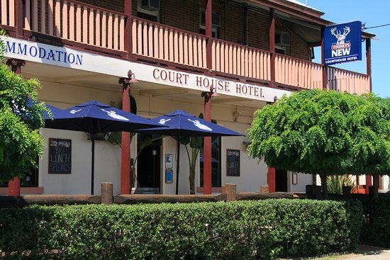Mudgee, Australia: Sundeck at the Court House Hotel