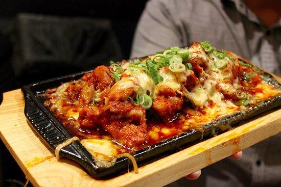 arirang korean barbecue restaurant cheese buldak