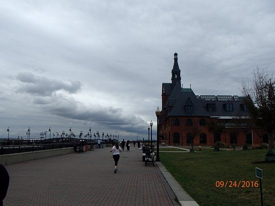 Liberty State Park: Parque lineal