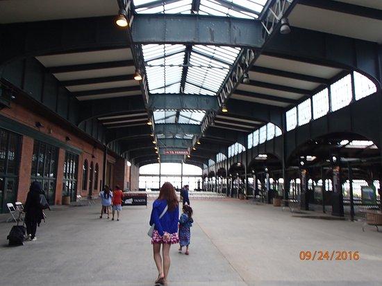 Liberty State Park: Vieja estacion del ferrocarril
