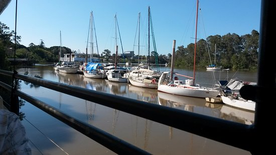 Maryborough, Australien: A peaceful and tranquil setting as viewed from the deck of 71 Wharf