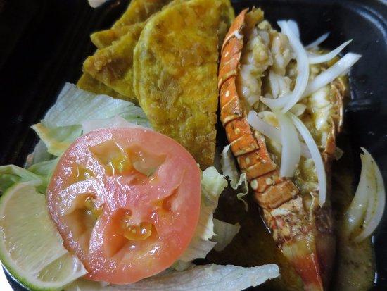 North Miami Beach, FL: Steamed lobster tail