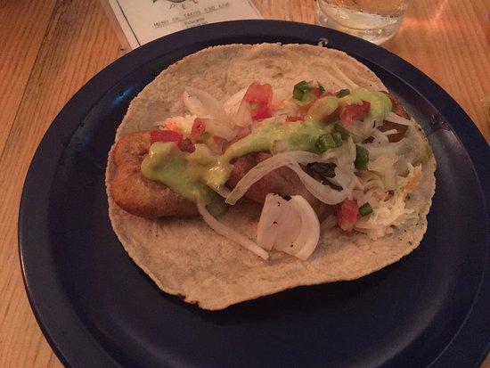 PEZ: White fish taco (Pescado)