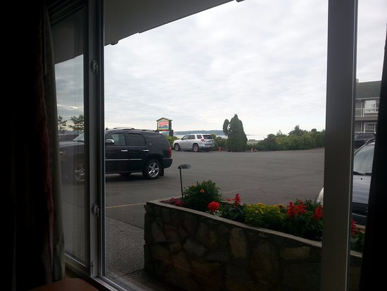 The Cedarwood Inn and Suites: View from front window