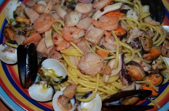 Punta Uva, คอสตาริกา: Espagueti Pescatore