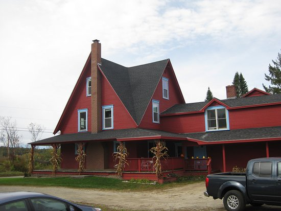 Sugar Hill, NH: The main building where these natural & organic dishes were created.