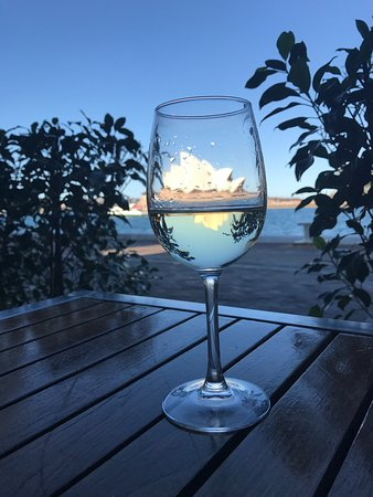 Cruise: Nice wine and a great view