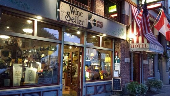 Port Townsend, WA: The Wine Seller