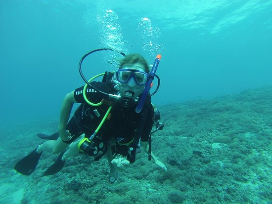 Gili Air, Indonesia: First Dive ever