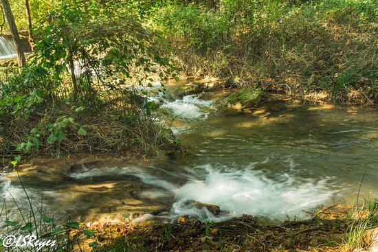 Sulphur, OK: A stream in Chickasaw Nat'l Recreation Area