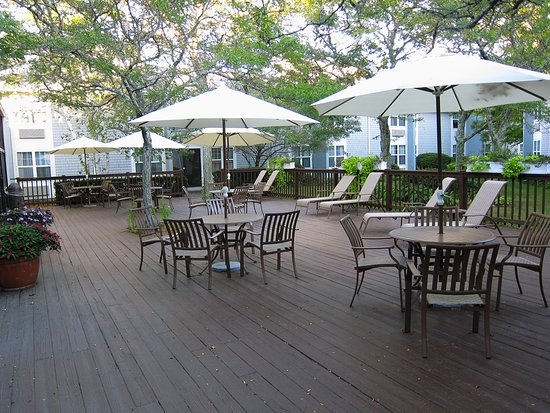 Holiday Inn Hyannis: Large patio