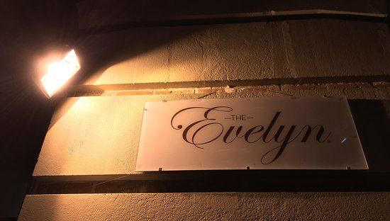 The Evelyn: Exterior Sign - Simple and Elegant