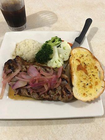 Big Sur Restaurant: NY steak