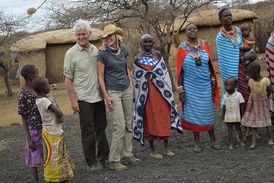 Campi ya Kanzi: A visit to a nearby Maasai village