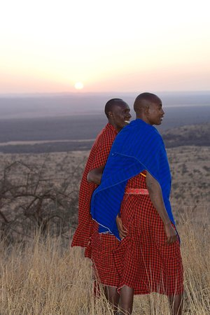 Campi ya Kanzi: Our tracker and guide