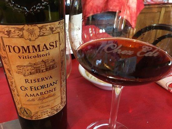 Gignod, Италия: Un Amarone exceptionnel