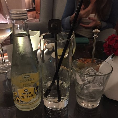 InterContinental David Tel Aviv: 酒店大堂: Gin and Tonic
