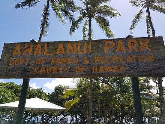 ปาฮัว, ฮาวาย: Ahalanui Park