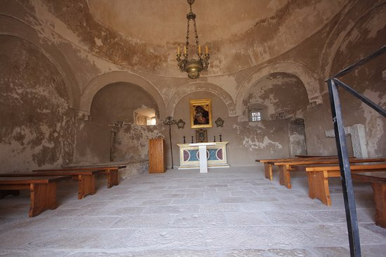 Klis, Kroasia: church in the fortress