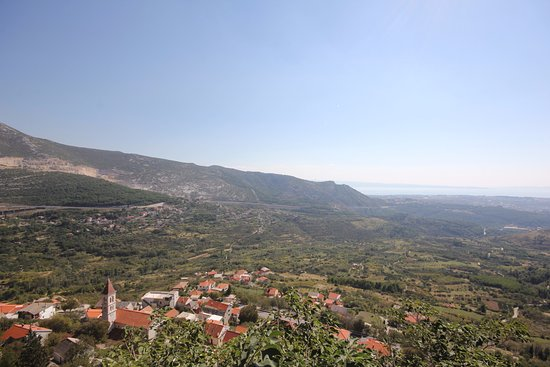 Klis, Kroasia: View from the fortress