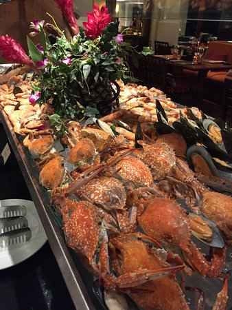 Elements: Seafood Buffet only Saturday