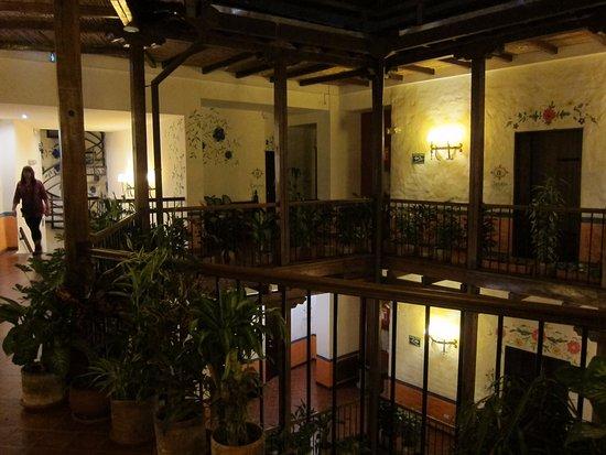 La Casona de la Ronda Heritage Boutique Hotel: rooms on the second floor