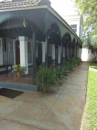 The Bangala: Entrance